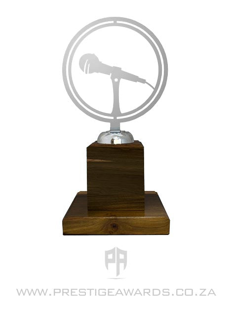 Public Speaking Ring Floating Trophy