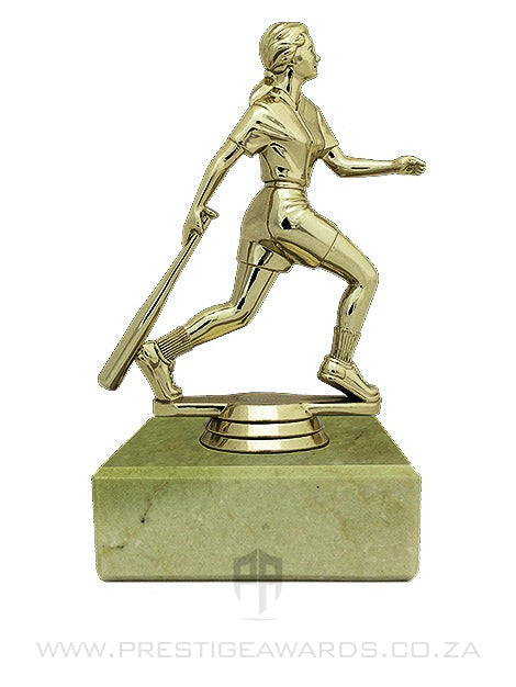 Baseball Action Batter (Female) Award