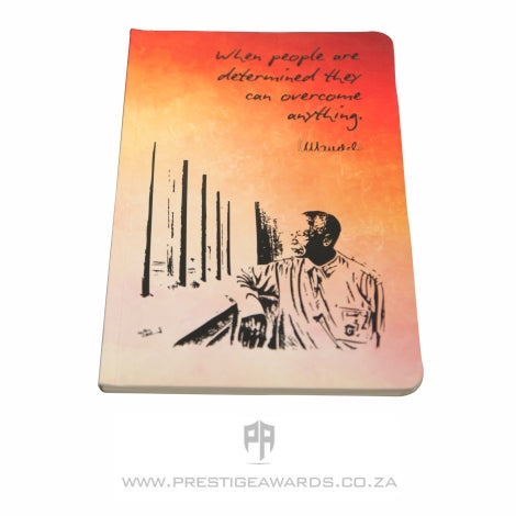 Mandela eco multi colour soft cover centennial journal