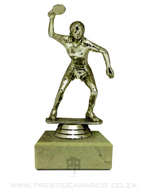 Table Tennis Female Player Trophy