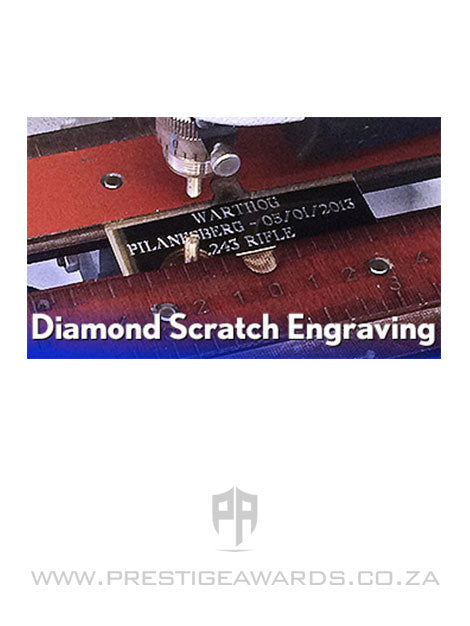 Engraving (flat) - Diamond Scratch