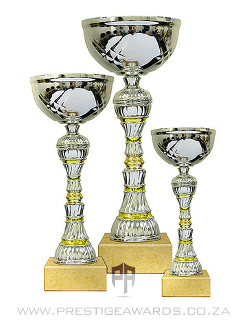 Silver and Gold Value trophy T0502 Range