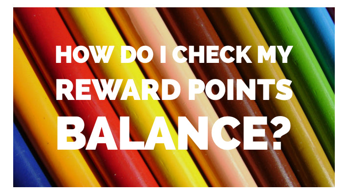 How do I check my Reward Points Balance?