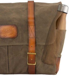 Commodore messenger bag with unique Australian designed side pockets