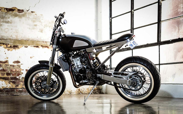 Rogue Motorcycles DR Side Shot