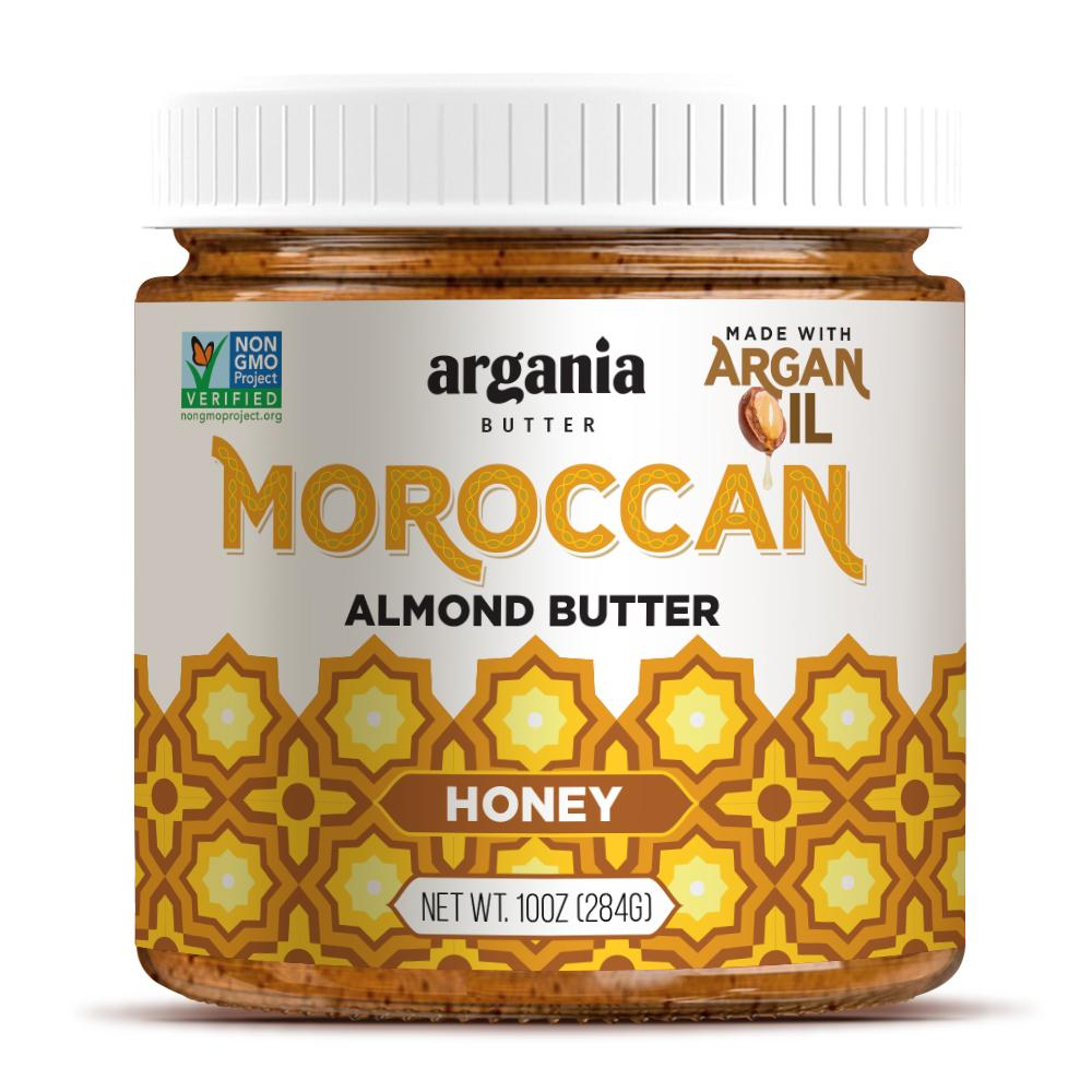 Argania Almond Butter - Honey - LyteProtein