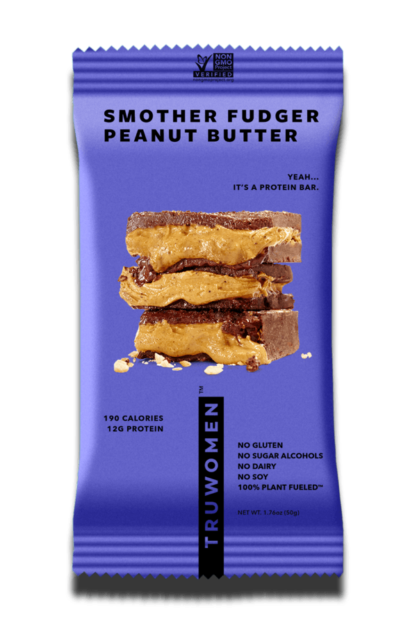 TRUWOMEN - Smother Fudge Peanut Butter - Box of 12 - LyteProtein