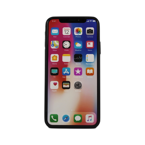 iPhone X schermo acceso - No Logo