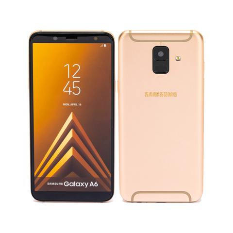 Samsung Galaxy A6 Gold (Official)