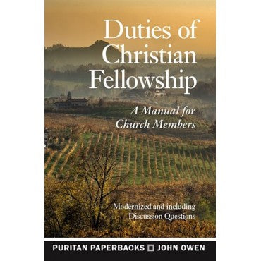 Duties of Christian Fellowship