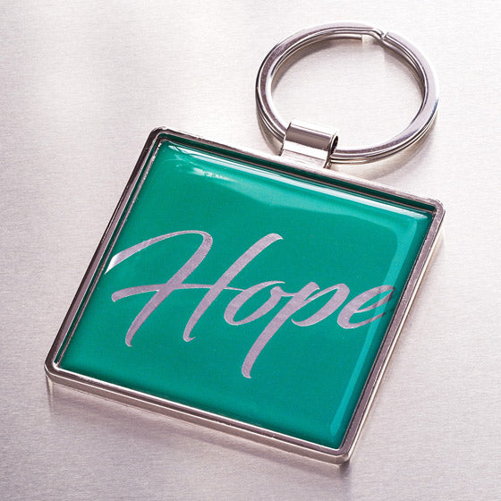 Metal Keyring: Hope