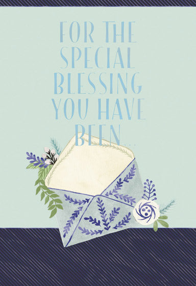 Thank You For the special blessing you have been