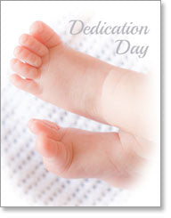 Religious Occasion Dedication (small size)
