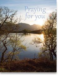 Encouragement Praying for You (small size)