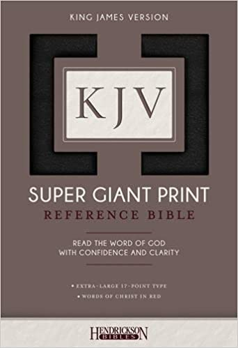 KJV Super Giant Print Bible Imitation Leather