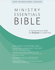 NIV Ministry Essentials Bible