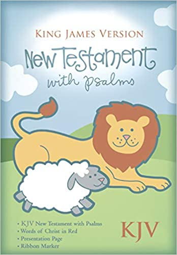 KJV Baby's New Testament, Pink Imitation Leather