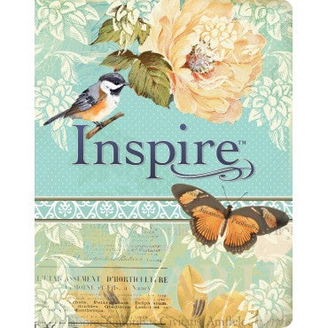 NLT Inspire colouring and journaling Bible