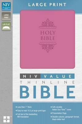 NIV Thinline Value Large Print Pink