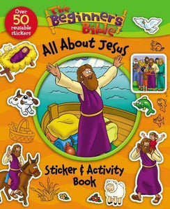 Beginner's Bible All About Jesus Sticker and Activity Book