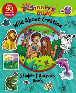 Beginner's Bible Wild About Creation Sticker and Activity Book