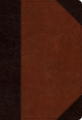 ESV large print compact brown/cordovan