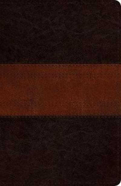 ESV Reference Bible (Trutone, Deep Brown/Tan, Trail Design)