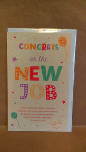 Congratulations Congrats on the New Job