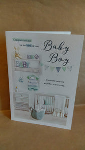 New Baby Congratulations on the birth of tour Baby Boy