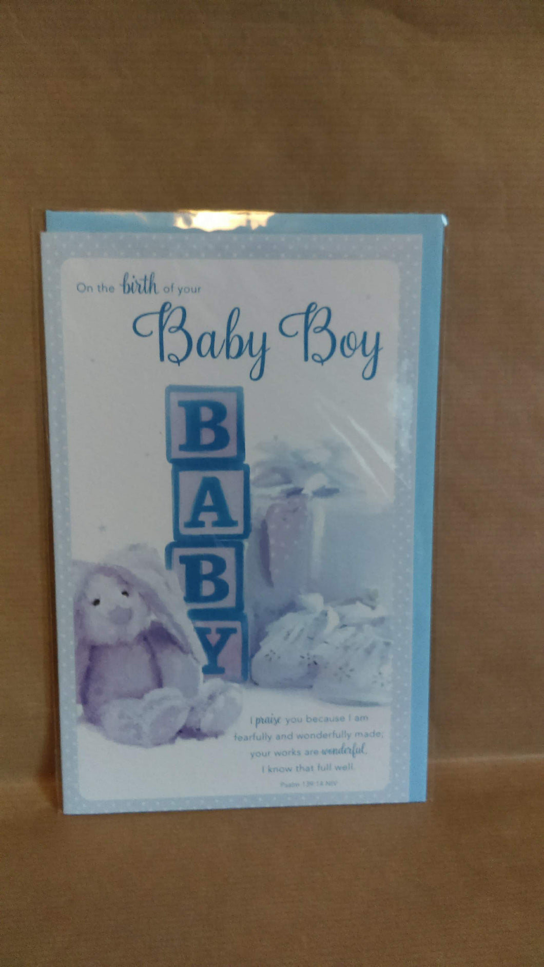New Baby On the birth of your Baby Boy