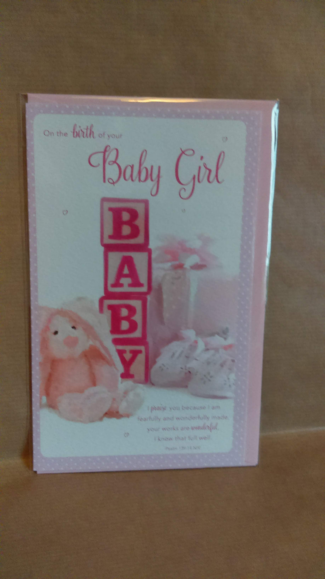 New Baby On the birth of your Baby Girl
