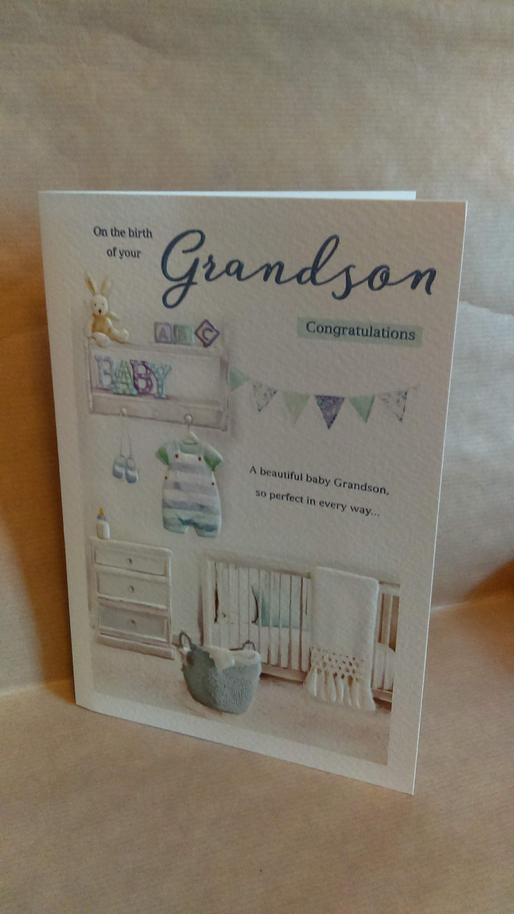 New Baby On the birth of your Grandson