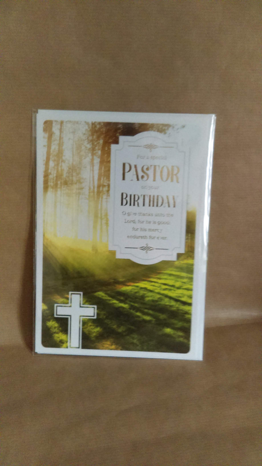 General Birthday For a Special Pastor on your Birthday