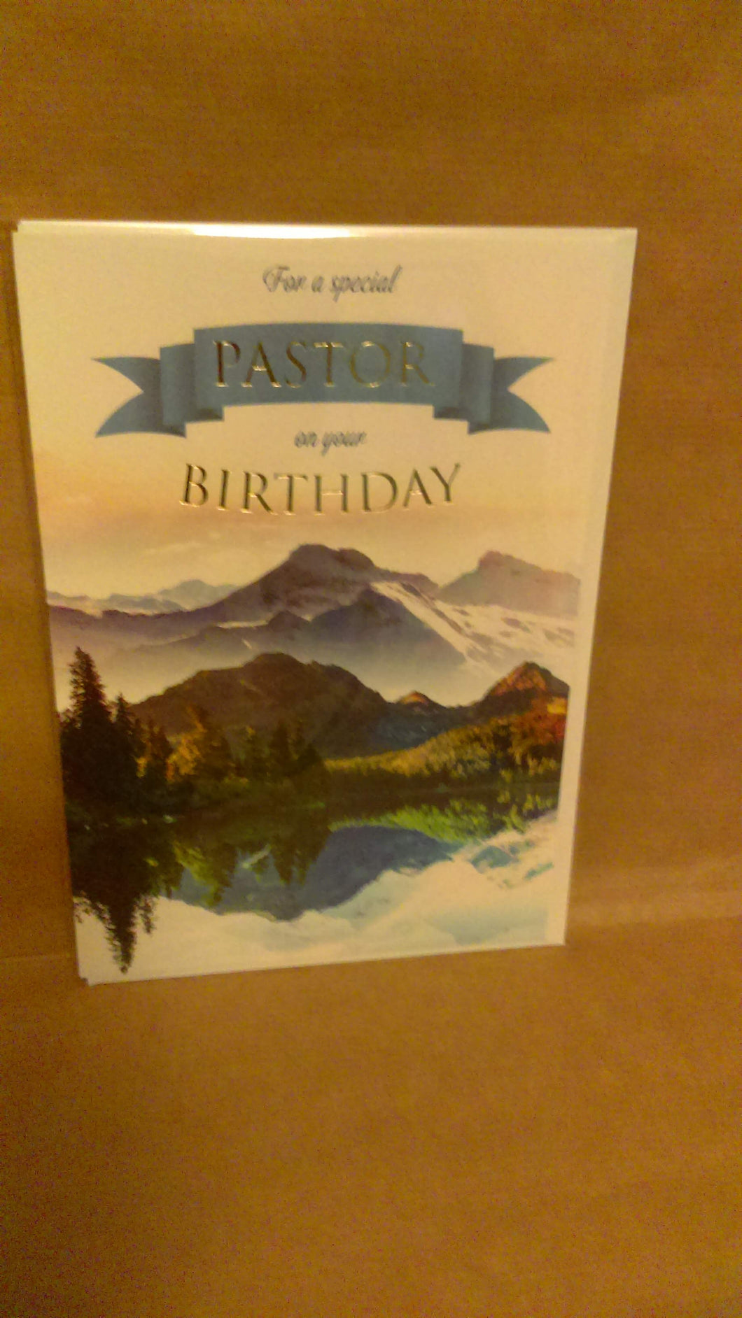 General Birthday: For a special Pastor on your Birthday