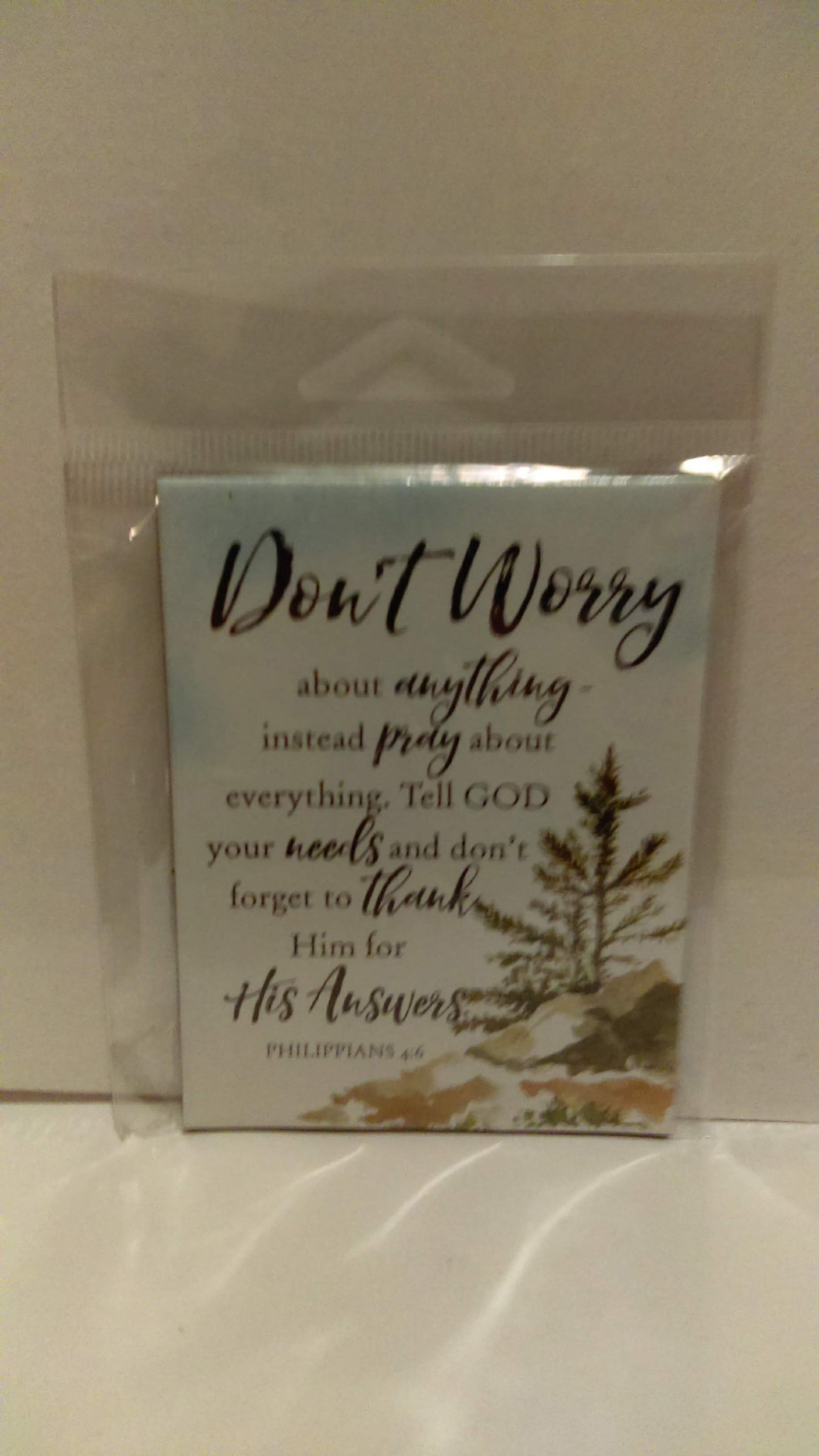 Magnet: Don't Worry