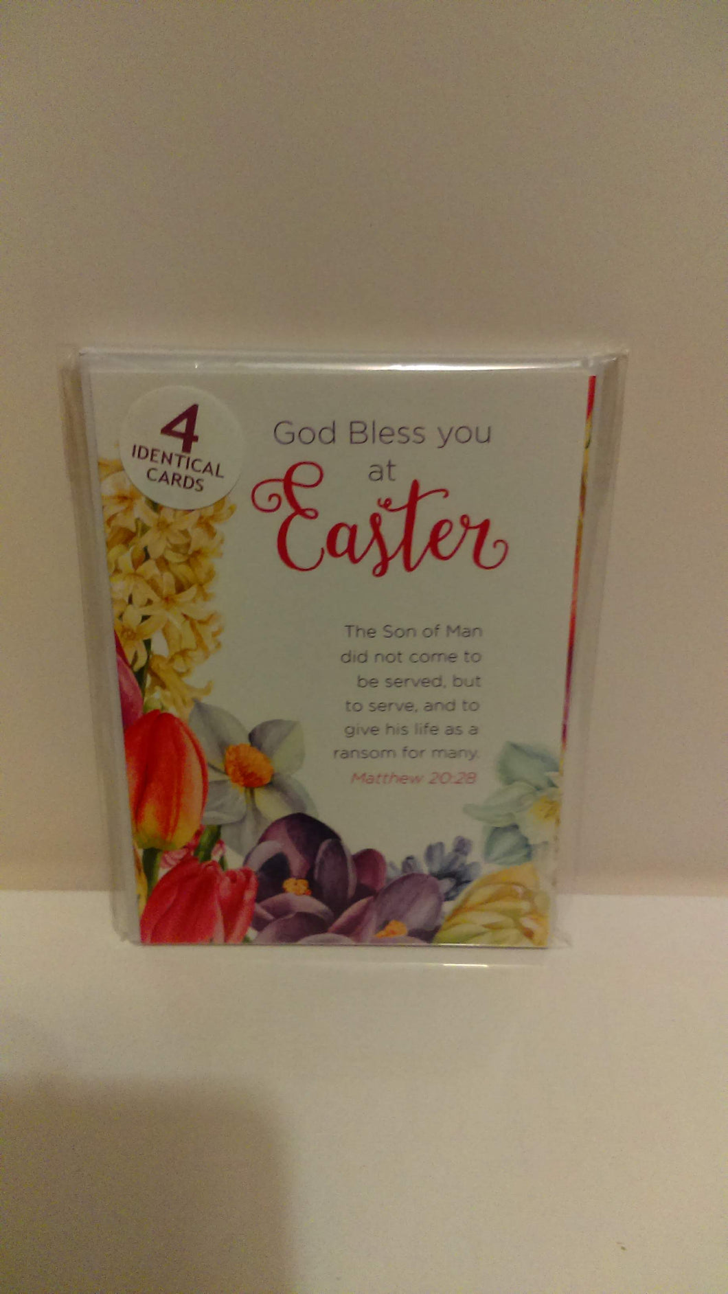 Easter mini card pack of 4