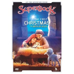 Superbook- The First Christmas DVD