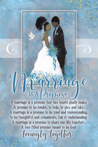 Plaque: Marriage is a Promise