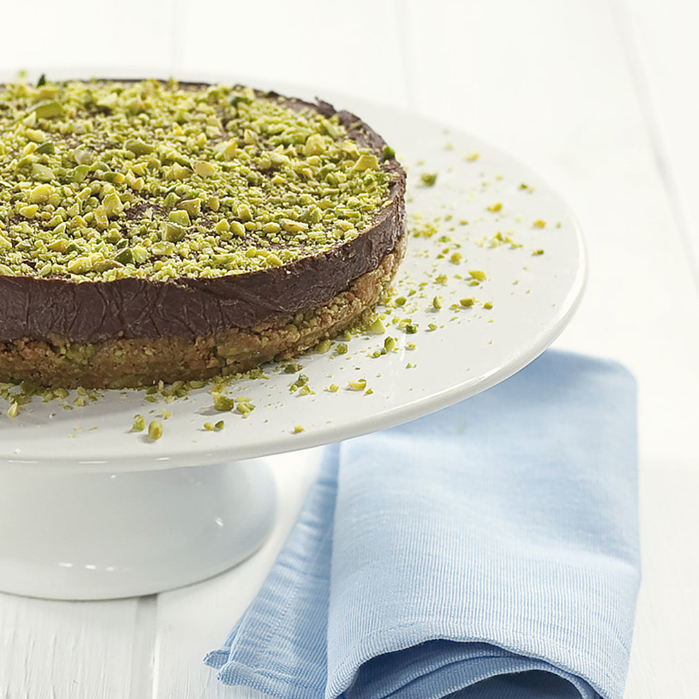 Image for Chocolate and pistachio biscuits with Colonna rosaoliva oil