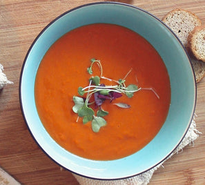 Superb spicy gazpacho with ULIVA EVOO and white balsamic vinegar