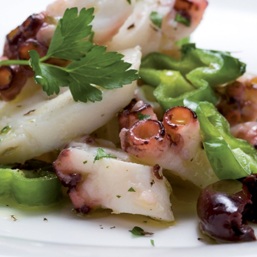 Image for Grilled octopus with Colonna Mandarino oil