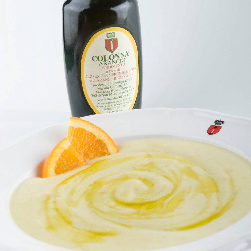 Image for Potato puree with Colonna arancio oil