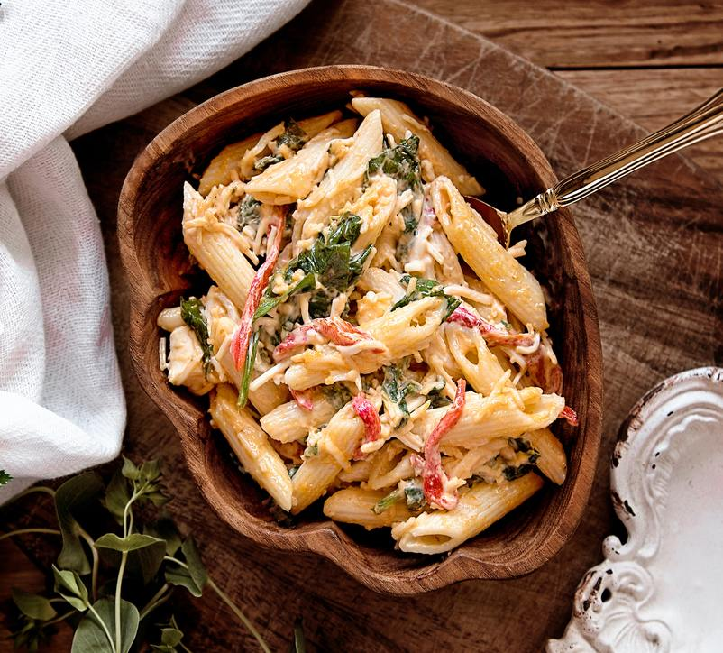Image for Italian style chicken pasta salad