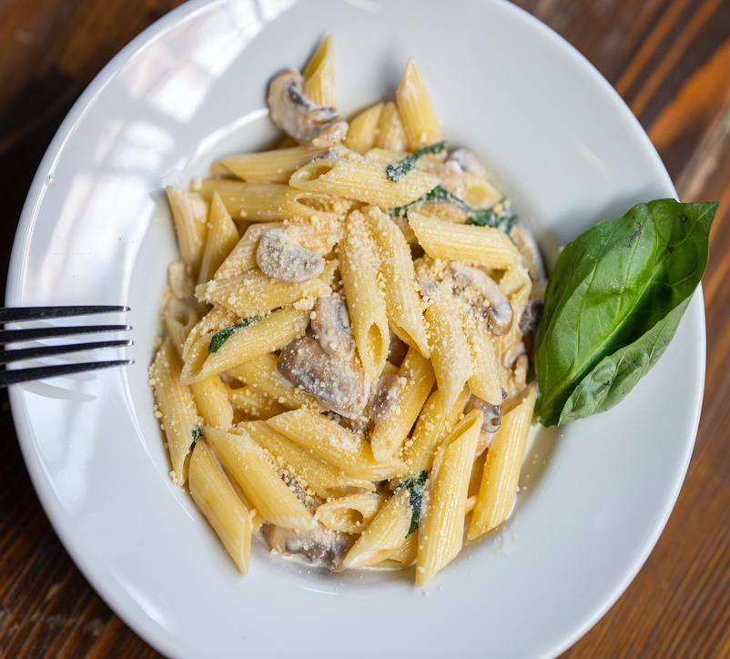 Image for Half penne with spinach sauce