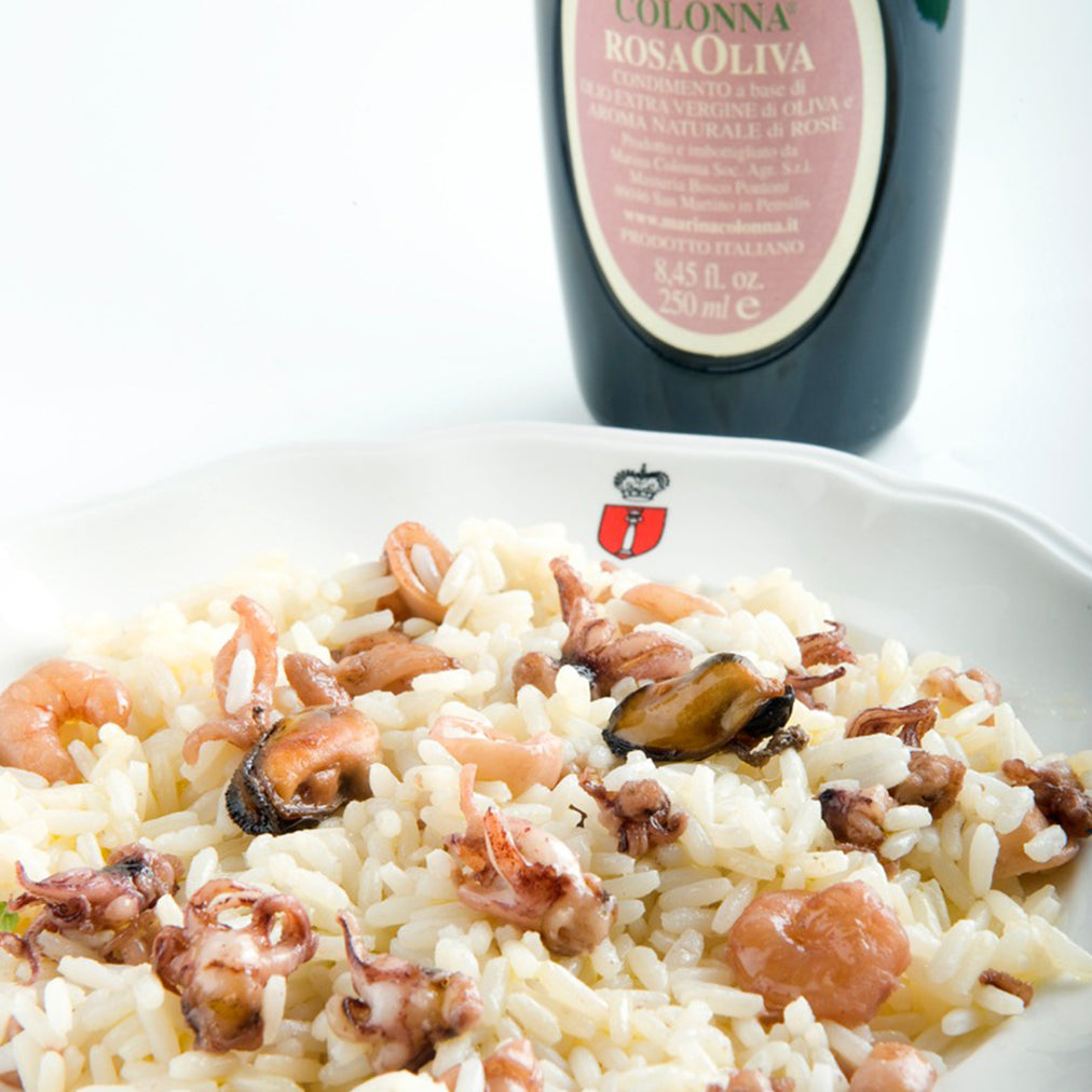Image for Risotto with Colonna rosaoliva oil