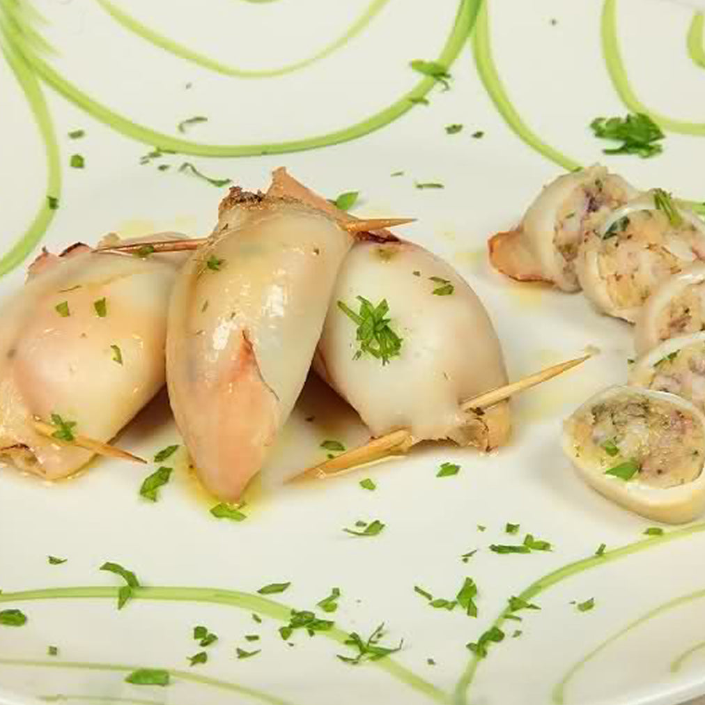 Image for Stuffed squid with Colonna arancio oil