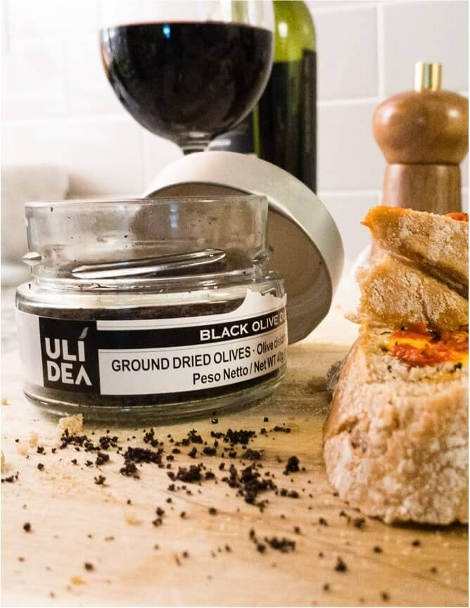 ULIDEA Black Olive Dust by Uncommon Gourmet