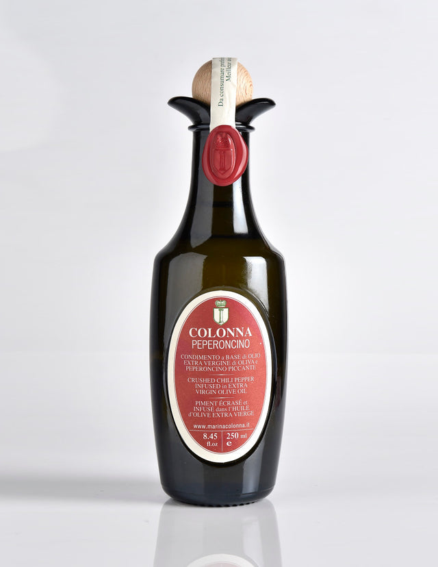 COLONNA EVOO INFUSED WITH MUSTARD IN AN ANFORA BOTTLE (250ml)