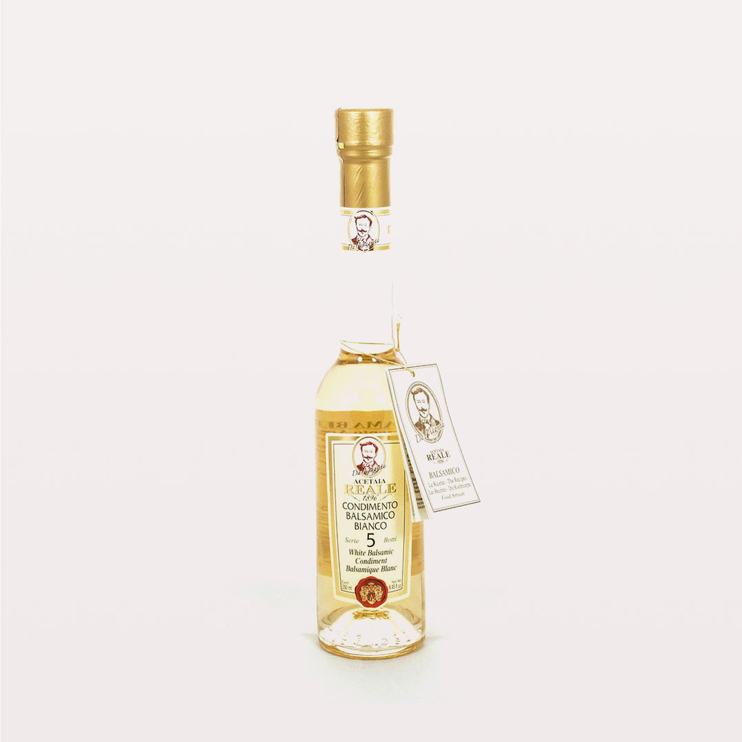 REALE White Balsamic Vinegar 5 year (250ml)