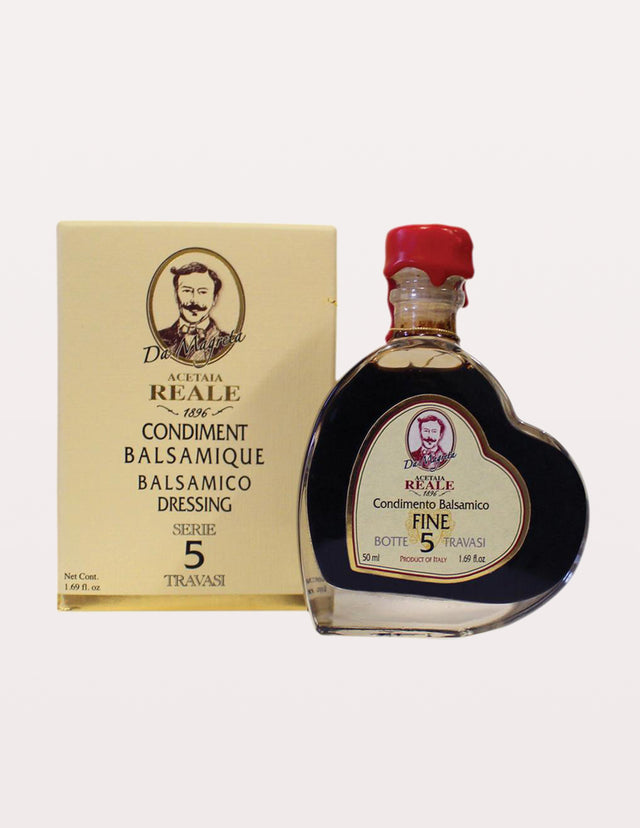5 Year 100% Balsamic Vinegar (REALE Condimenti) by Acetaia Leonardi- 250ml